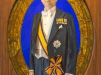 Koning Willem-Alexander, schilderes Monique Broekman 2015