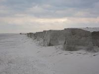 Strandafslag bij Ameland